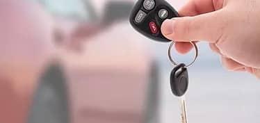 car financing and loans handling of car keys