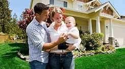 family applying for home loan